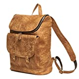 TOREEP Thanksgiving Mens Leather Backpack Hiking Daypacks rucksack Backpacks