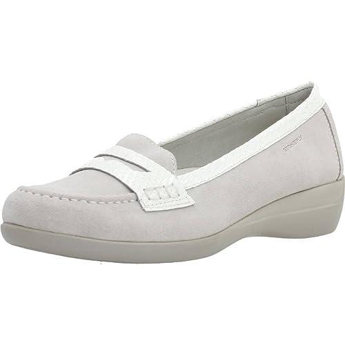 Mocasines para Mujer, Color Gris, Marca STONEFLY, Modelo Mocasines para Mujer STONEFLY 104050 Gris: Amazon.es: Zapatos y complementos