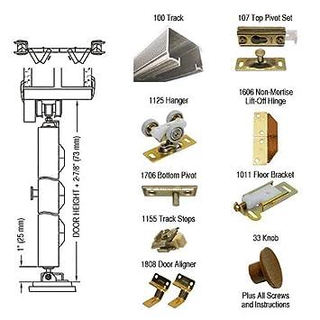 CRL Deluxe Commercial Grade, Folding Door Hardware Set 100FD362 ...
