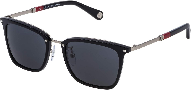 Carolina Herrera Gafas de Sol SHE105520700 (Diametro 52 mm), Negro, 52/20/140 Unisex-Adult: Amazon.es: Ropa y accesorios