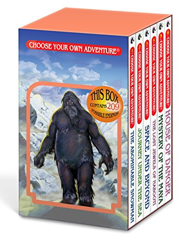 an/Journey Under the Sea/Space and Beyond/The Lost Jewels of Nabooti/Mystery of the Maya/House of Danger (Choose Your Own Adventure 1-6) (Box Set 1) ()