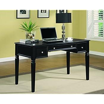coaster home furnishings casual writing desk black