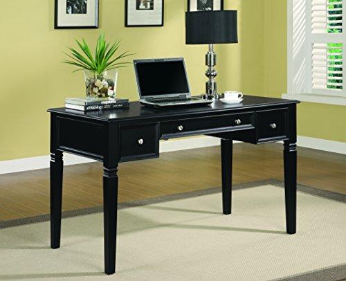 Coaster Home Furnishings 800913 Casual Writing Desk, Black (Louis Desk Chair)