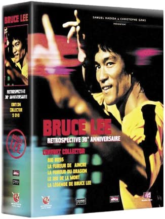 Coffret Collector Bruce Lee 5 Dvd Big Boss La Fureur De Vaincre La Fureur Du Dragon Le Jeu De La Mort Dvd Bonus édition Collector Amazon Co Uk Dvd Blu Ray