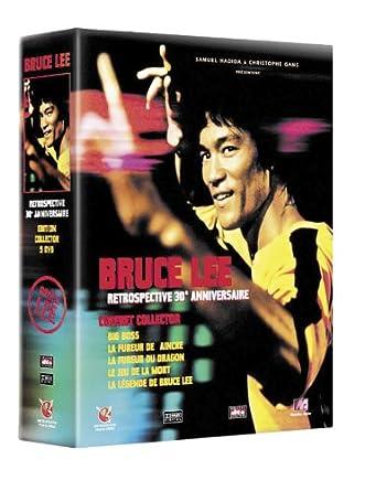 Amazon Com Coffret Collector Bruce Lee 5 Dvd Big Boss La Fureur De Vaincre La Fureur Du Dragon Le Jeu De La Mort Dvd Bonus Movies Tv