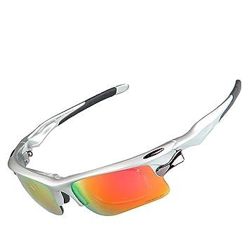 QXHMYJ uz polarizada Gafas de Ciclismo Protección UV 400 Anti-Niebla Ejercicio Gafas Adaptación y
