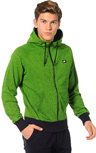 Nike mens AW77 FT FZ HOODY-SHOEBOX 678560-702_2XL - (Htr Box)