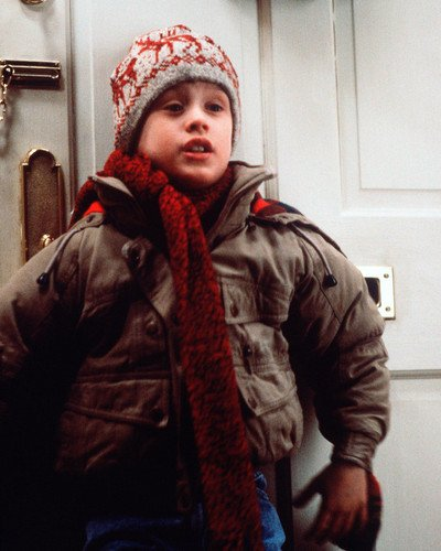 ac915d474cb Image Unavailable. Image not available for. Color  Home Alone Macaulay  Culkin in ski hat ...