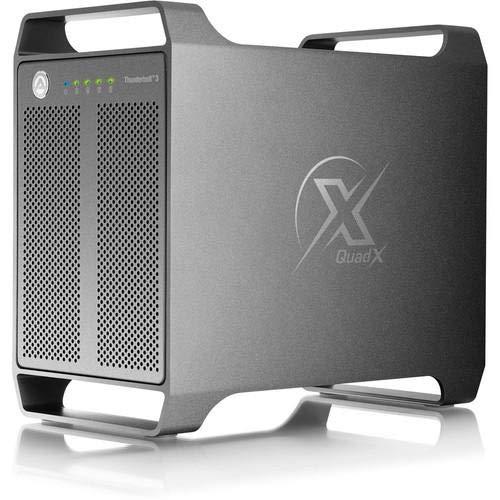 AKiTio Thunder 3 QUAD X For Apple OSX and WINDOWS both