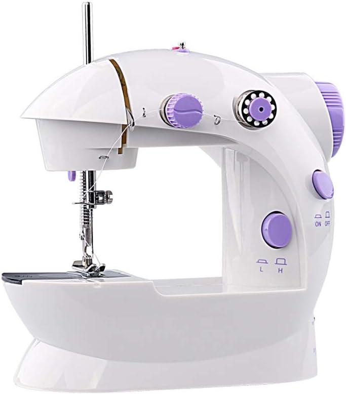 Teng Peng Máquina de coser, mini portátil de mano for reparaciones ...