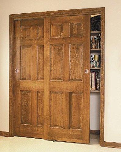 100SD Sliding Bypass Door Hardware (96 In. Length 2 Door System) by Johnson Hardware (Image #6)