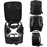 DZT1968 Multifunctional securely Carrying Shoulder Case Backpack Bag for DJI Phantom 3S 3A 3SE 4A 4 4Pro Black