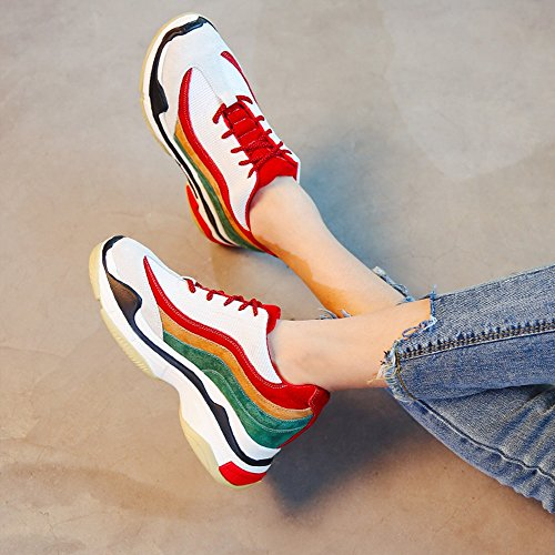 Black Version Student White Fire Women's Winter Shoes EU37 CN37 Shoes Sports Shoes 5 5 Ultra LVZAIXI Color cozy shoes Size UK4 Korean zwnq18z6