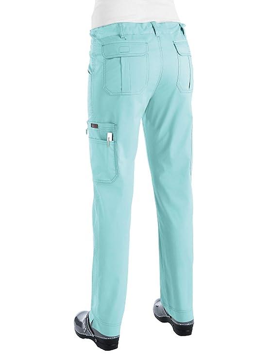 3461c857b10 Amazon.com: KOI Women's Stretch Lindsey Mid-Rise Drawstring Waist Cargo  Scrub Pants: Industrial & Scientific