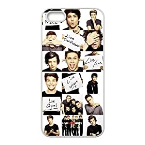 Custom High Quality WUCHAOGUI Phone case One Direction Music Band Protective Case For Apple Iphone 5 5S Cases - Case-14