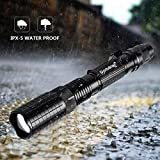 3000 Lumen LED 18650 Flashlight with 8PCS 3.7V