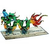 Handmade Lucky Dragon Art Glass Blown Fairy Tale Animal Figurine