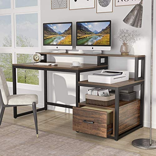 Tribesigns 59 inch Computer Desk