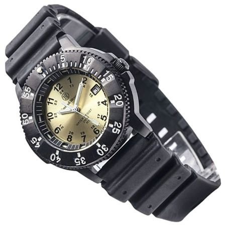 smith-wesson-mens-sww-450-yellow-sport-tritium-h3-black-rubber-and-nylon-straps-watch