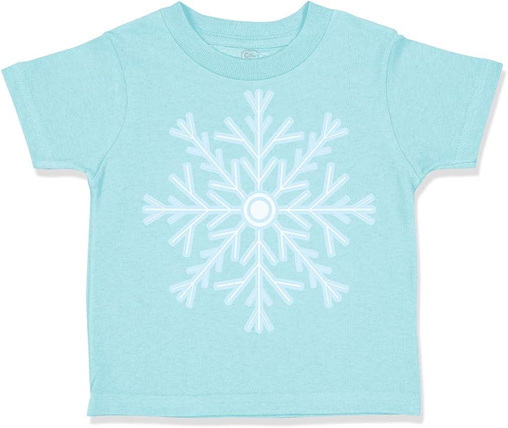 Custom Toddler T-Shirt Snowflake 2 Christmas Xmas Santa Boy /& Girl Clothes
