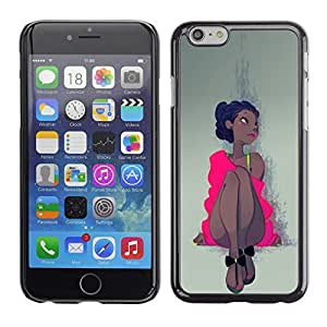 Be Good Phone Accessory // Dura Cáscara cubierta Protectora Caso Carcasa Funda de Protección para Apple Iphone 6 // Pink Dress Latina Woman Girl Dancer