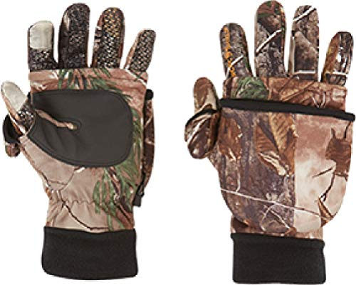 ArcticShield Unisex Tech Finger System Gloves, Realtree Xtra, Large ()