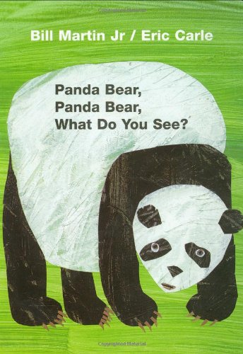 Baby Books Bears (Panda Bear, Panda Bear, What Do You See? Board Book)