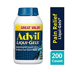 Advil Liqui-Gels (200 Count (Pack of 1))...
