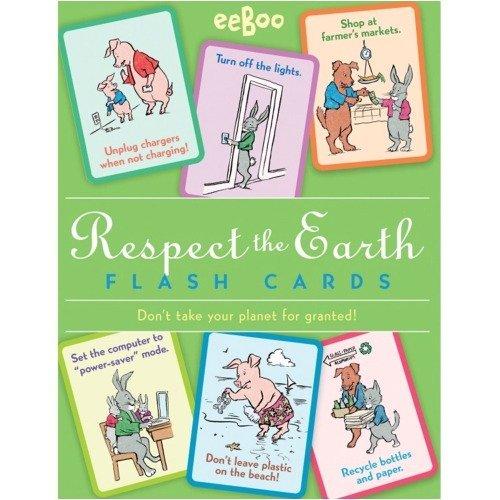 eeBoo Respect The Earth Flash Cards