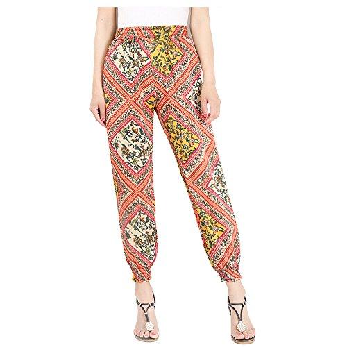 - Hanglin Trade Plus Size Womens Loose Elephant Pants Plus Size Lounge Harem Pajama Yoga Boho Harem Yoga Pants(Style-2 M)