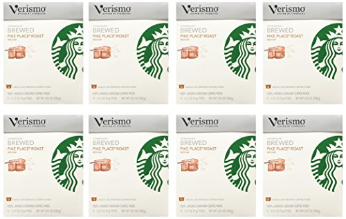 Starbucks Verismo Pods 96 Count (Pike Place) by Verismo