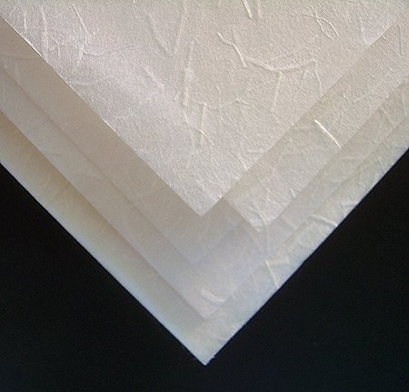 Legion Kinwashi Japanese Rice Paper, Manila Hemp Fibers, 24 X 36 inches, White, 1 Sheet (J51-KINWWH2436)