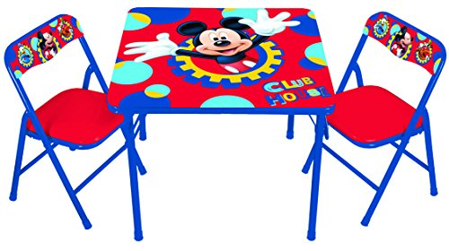 Disney Mickey Club House Capers Activity Table Set by Disney