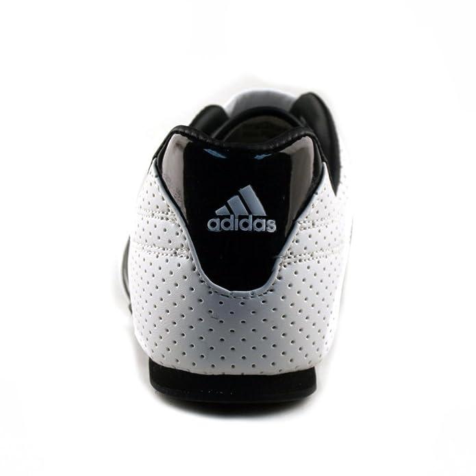 online retailer cad1f 63680 adidas ADI-LUX Martial Arts Taekwondo Kick Training Shoes WHITE  Black  Stripe Limited Edition (8) ... Amazon.co.uk Shoes  Bags