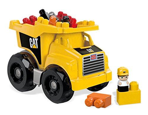 Mega Blocks Dump Truck (Mega Bloks Caterpillar Large Dump Truck)