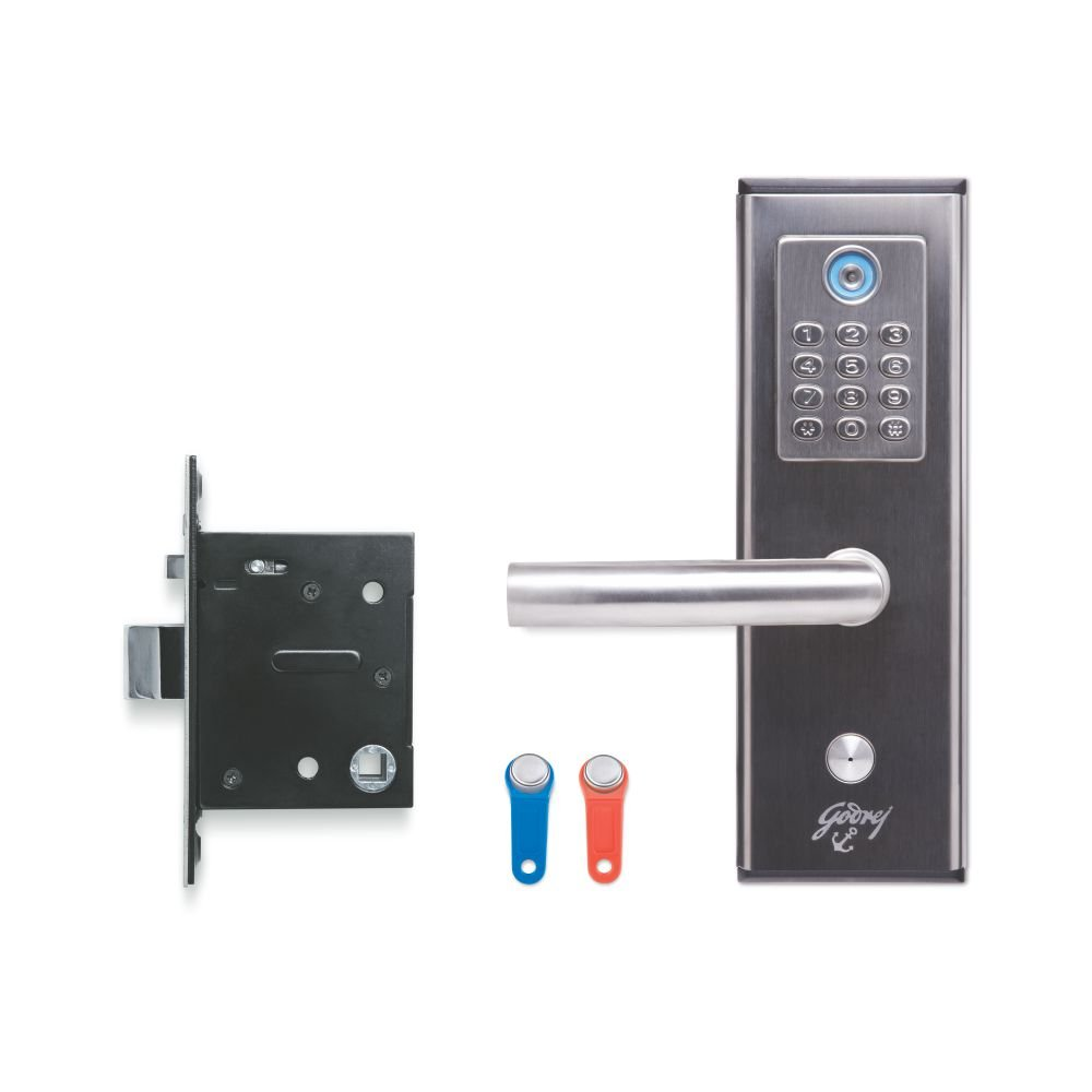 Godrej I Secure Keypad Mortise Lock Left Home Improvement Here Is An Electronic Code Which Can Be Used As A Door
