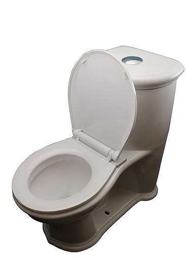 small round toilet seat. Child s White Round Small Toilet  Two Piece Toilets Amazon com