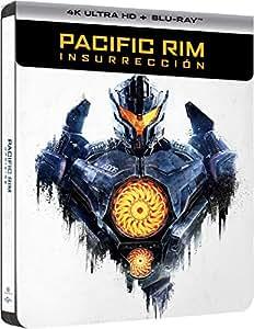 Pacific Rim: Insurrección Edición Especial Limitada Metal y Comic - Exclusiva Amazon [Blu-ray]