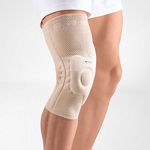 Bauerfeind GenuTrain A3 - Knee Support - Helps Relieve Chronic Knee Pain and Irritation - Right Knee - Size 3 - Color Nature by Bauerfeind (Image #1)