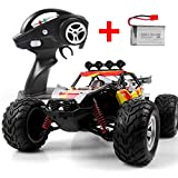 DAZHONG Remote Control Car Monster RC Trucks 1/12 Scale Off Road Rock Crawler Vehicle 2.4Ghz 4WD High Speed All Terrain Climbing Car with 2 Rechargeable Batteries