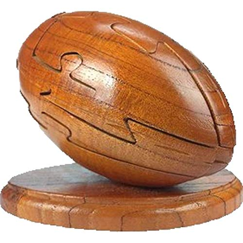 Wood Sized Jumbo Puzzles - Project Genius Ultimate Sports - Puzzle-Trivia Combination: Football, Wooden