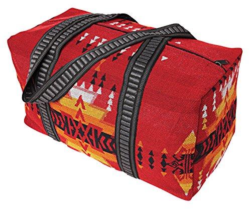 Southwest Shoulder Tote Duffel Bag . Beautiful Geometric Patterns in Vivid Colors C