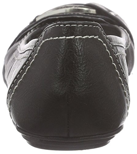 Bailarinas Marco sintético Negro 22130 de negro para Tozzi material mujer PHHqTW