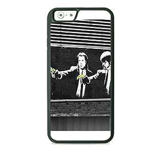 Case Fun Case Fun Graffiti Pulp Fiction Banana TPU Rubber Back Case Cover for Apple iPhone 6 4.7 inch