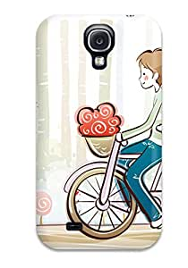 Snap-on Cartoon Valentine Case Cover Skin Compatible With Galaxy S4