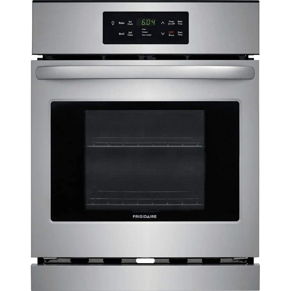 Frigidaire FFEW2426US 24 Inch 3.3 cu. ft. Total Capacity Electric Single Wall Oven with 2 Oven Racks, in Stainless Steel by FRIGIDAIRE