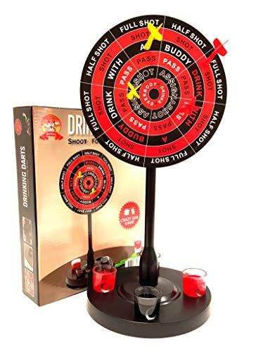 Barwench Games' Shot Glass Drinking Darts Game (Large Darts) ()