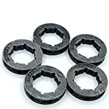 5 Pieces .325 7T Sprocket Rim for Husqvarna 340 345 346XP 350 353 357 359 50 51 55 40 45 Chainsaw Small 7 Spline