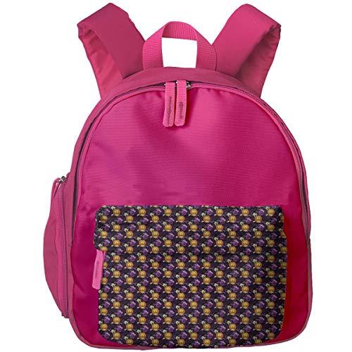 Toddler School Backpack Happy Halloween Book Bag