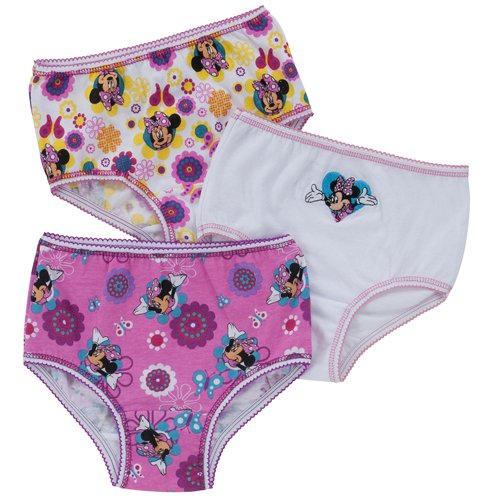 Minnie Mouse Toddler Girls' Briefs - 3